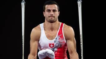 Pablo Brägger im Mehrkampf-Final an den Ringen