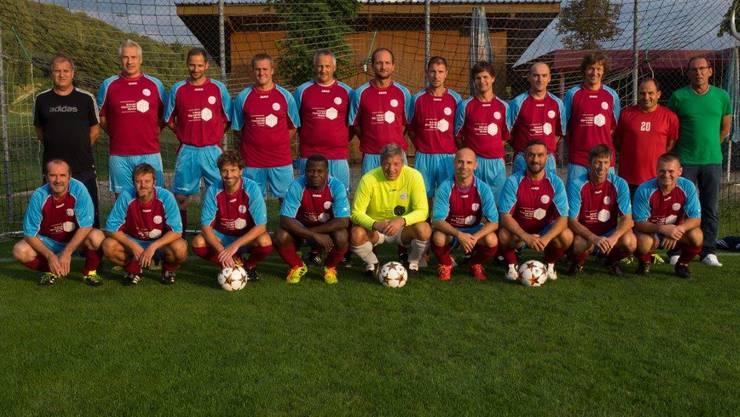 Senioren 40+ des FC Eiken/Stein