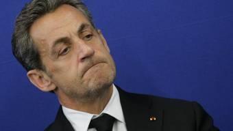 Nicolas Sarkozy geriet in den Strudel einer Finanzaffäre (Archiv)