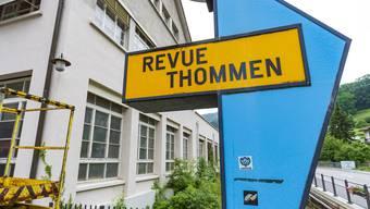 Zwischennutzung auf dem Revue-Thommen-Areal