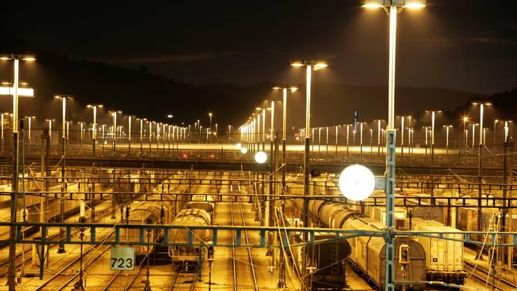 Rangierbahnhof Limmattal: Es soll neue LED-Leuchten geben.