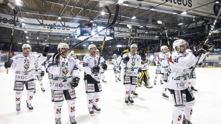 Eine Machtdemonstration: Der EHC Olten überfährt auswärts den HC La Chaux-de-Fonds und feiert einen überragenden 7:1-Sieg.