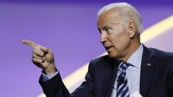 """""""Klare Korruption"""": Joe Biden, früherer US-Vizepräsident und jetziger Präsidentschaftsbewerber bei den Demokraten."""