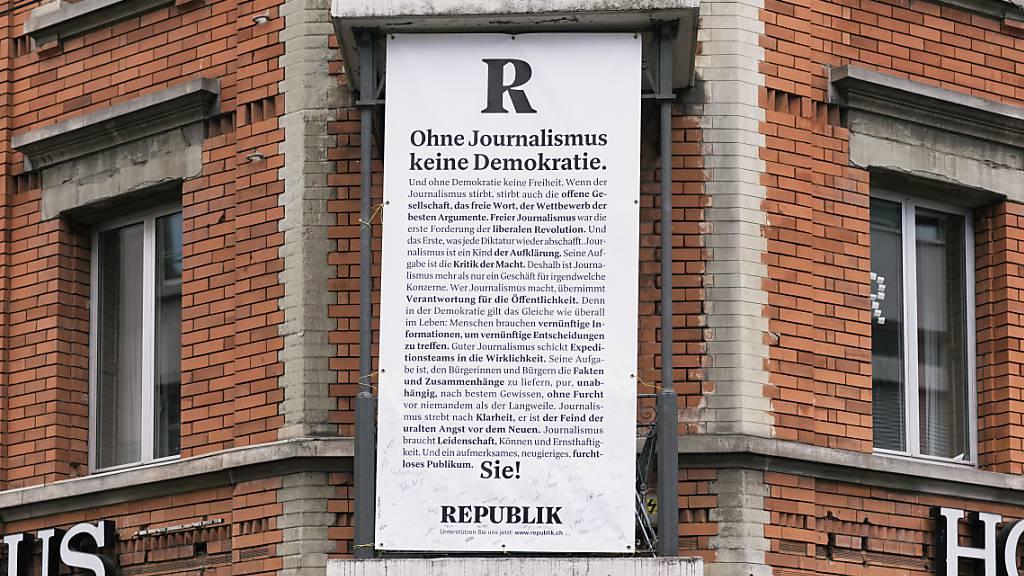 Magazin «Republik» muss Ende März 2,2 Millionen Franken haben