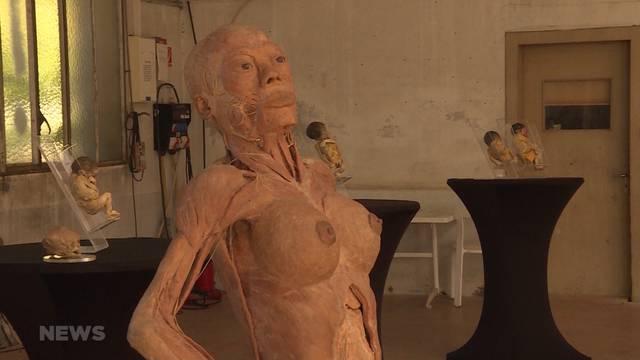 Umstrittene Leichen-Ausstellung in Bern