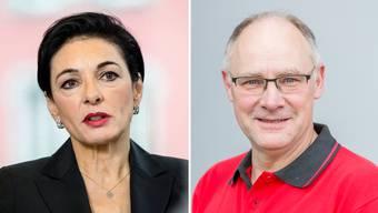 Offizielle Ständeratskandidaten: Marianne Binder (CVP) und Hansjörg Knecht (SVP)