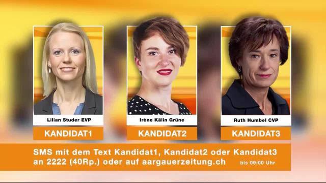 Kandidaten-Voting 2. Runde