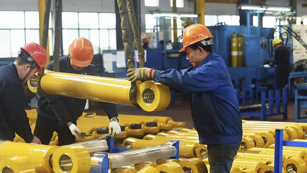 Chinas Wirtschaft wächst so langsam wie seit fast 30 Jahren nicht