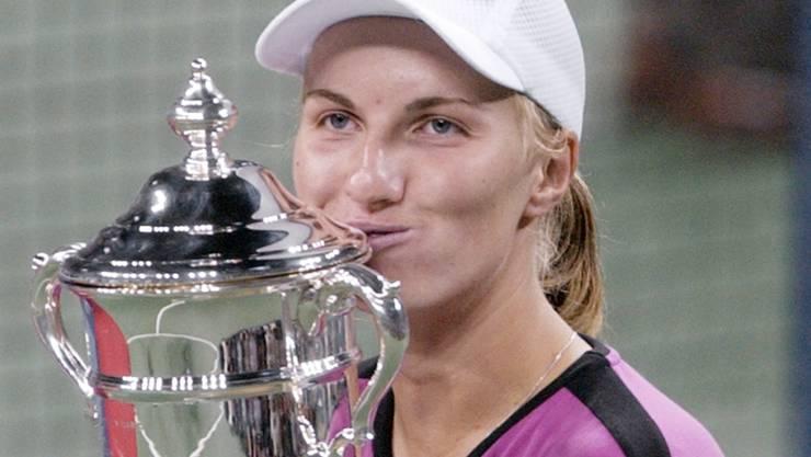 2004 Champion, dieses Jahr aus Angst vor dem Coronavirus nicht am US Open: die Russin Swetlana Kusnezowa