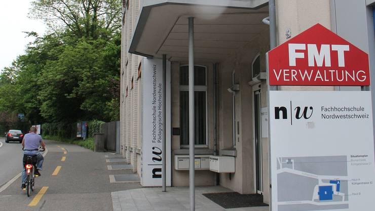 Neuer Standort der HPS ab 2014: Der Nordpark an der Küttigerstrasse im Scheibenschachen.