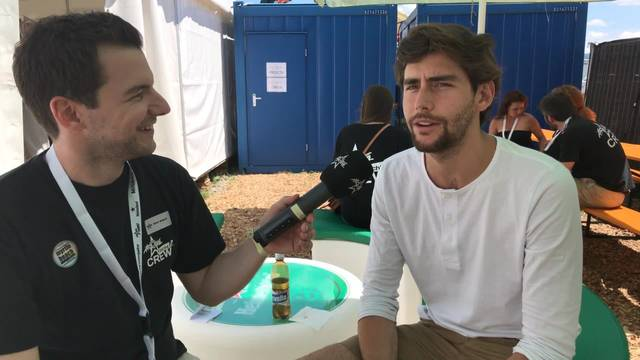 Álvaro Soler mag Rivella blau