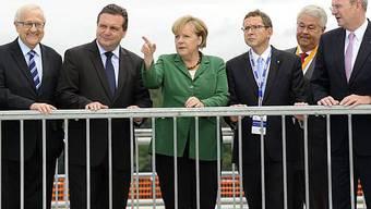 Angela Merkel in Rheinfelden