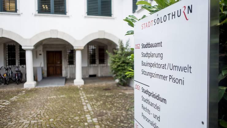 Stadt Solothurn, Stadtpräsidium, Stadtbauamt