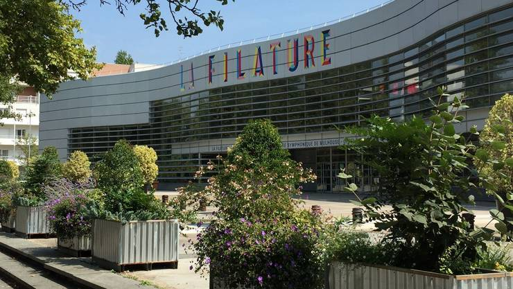 Grosse Kiste: Das Kulturzentrum «La Filature» in Mulhouse.
