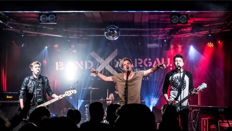 Einer der sieben Teilnehmer am bandXaargau 2017: Die Pop-Punkrocker Crystal Rose.