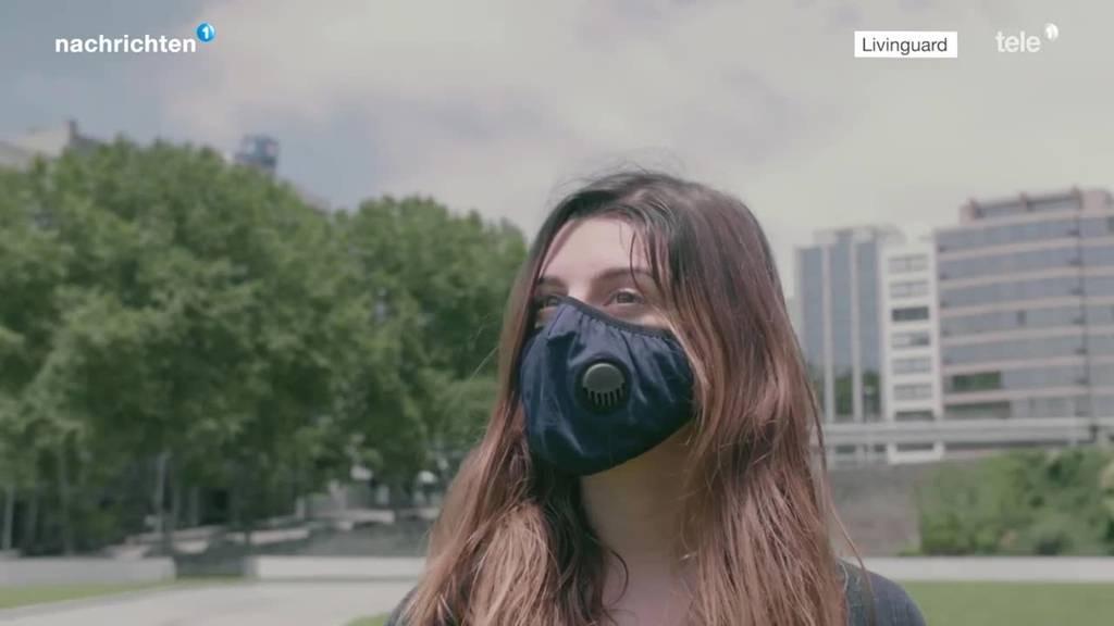 Maske soll Virus zerstören