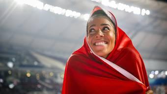 Kambundji gewinnt die erste Sprint-WM-Medaille in der Schweizer Sportgeschichte
