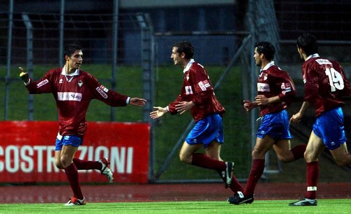 2003 begann sein Engagement in der Schweiz. Bei der AC Bellinzona.