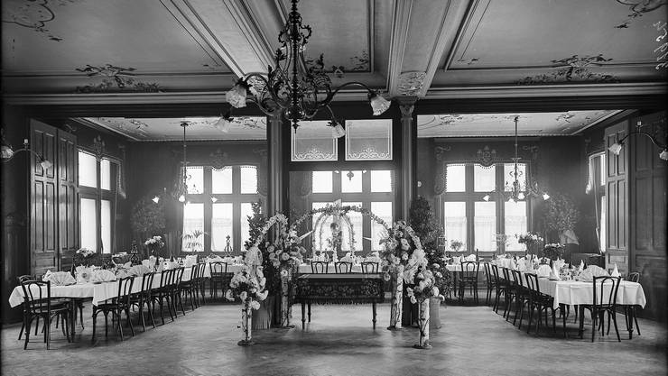Ort der Gründung: Der Festsaal des «Centralhofs» am Theaterplatz.