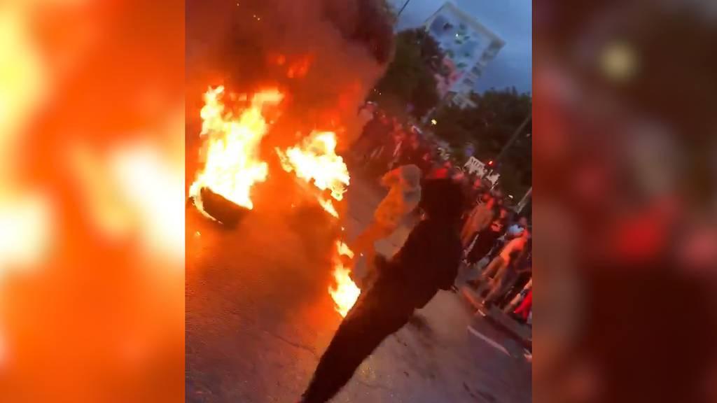 Gewaltsame Szenen in Malmö