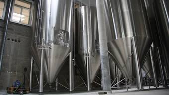 Die neue Öufi-Brauerei nimmt Formen an