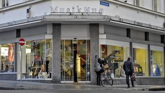 Die Musik Hug Filiale in Basel.