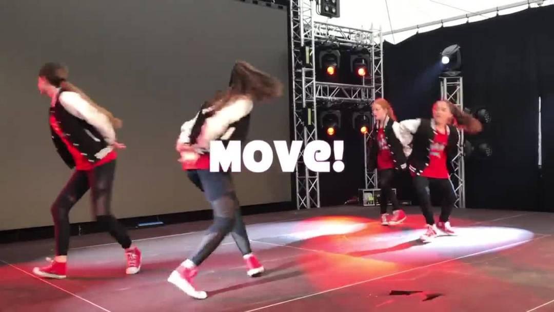 Die Move! Danceschool in Aktion