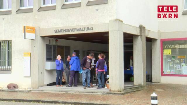 Poststelle schliesst: Einwohner von Wynigen auf Barrikade