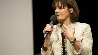 Die ehemalige Bundesrätin Ruth Metzler (Archiv)