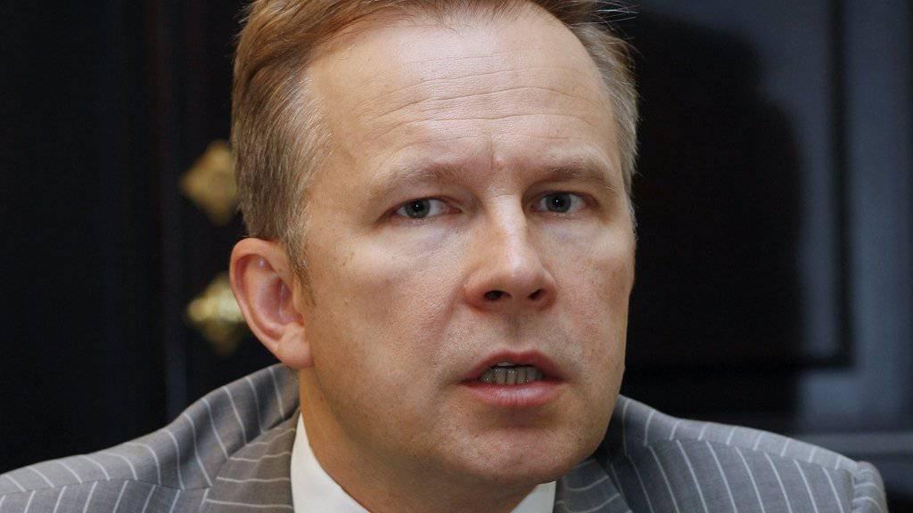 Zum Rücktritt aufgefordert: der lettische Notenbank-Chef Ilmars Rimsevics.