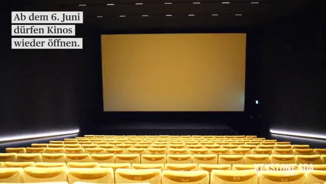 Im Kino mit zwei Meter Abstand oder Trennwenden?