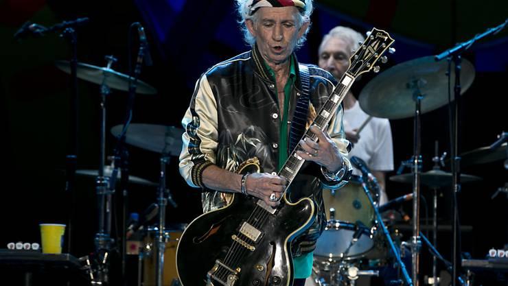 """Die Rolling Stones wollen es nochmals wissen: Gitarrist Keith Richards kündigte für """"sehr bald"""" ein neues Album an. (Archivbild)"""