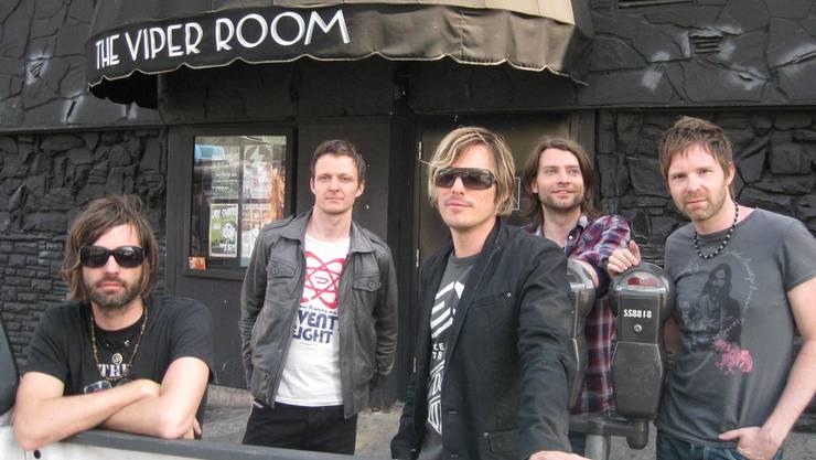 Cool geblieben: Die Lovebugs vor dem legendären «Viper Room». (M. von Arx)