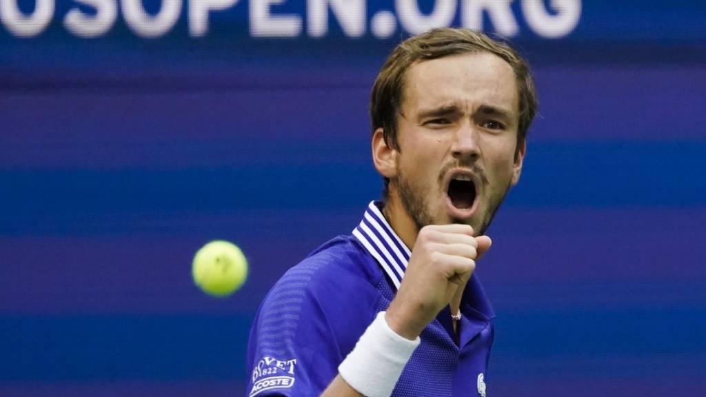 Daniil Medwedew steht zum dritten Mal in einem Grand-Slam-Final