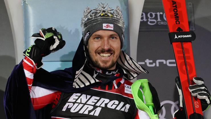 Seine Majestät, König Marcel I.: Der 30-jährige Ski-Star Marcel Hirscher hat seinen Rücktritt bekanntgegeben.
