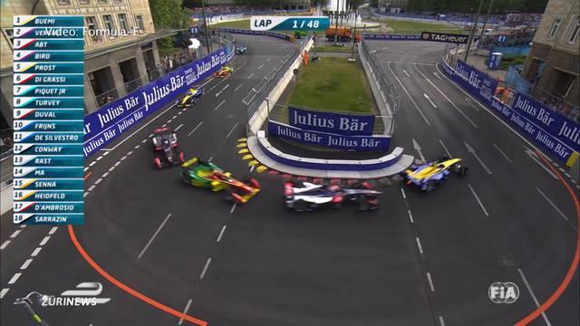 Erstes Formel-E-Rennen in Zürich