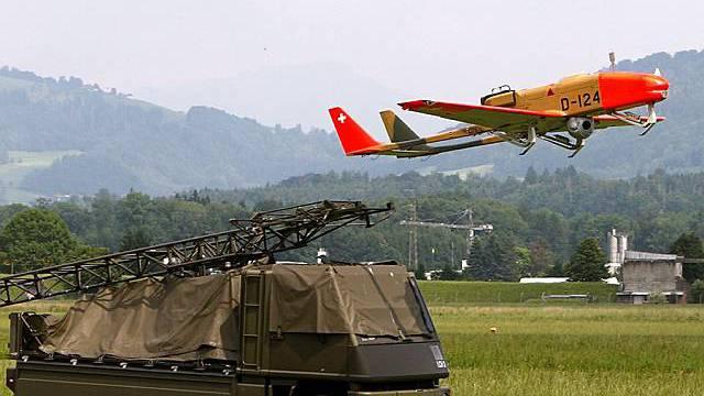 Drohne der Schweizer Luftwaffe (Archiv)