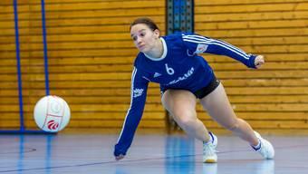 Sabrina Siegenthaler und ihre Teamkolleginnen vom STV Oberentfelden-Amsteg starteten mit zwei Siegen in die Hallensaison.