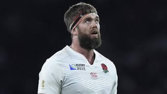 Die Engländer zittern bei der Heim-WM. Gewinnt Geoff Parling mit den Three Lions nicht gegen Australien, sind die Engländer raus.