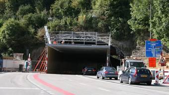 Der Schlossbergtunnel wird wegen Bauarbeiten gesperrt. (Archiv)