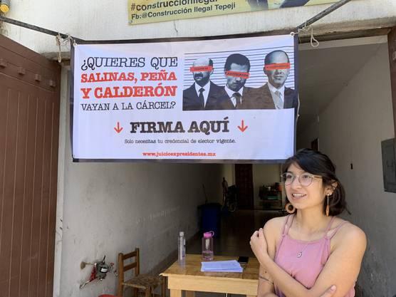 Die 23-jährige Aktivistin Ariadna Bahéna sagt: «Das ist die Stunde des Volkes.»