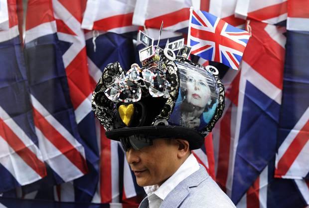 Die Briten verabschieden sich von einer Ikone