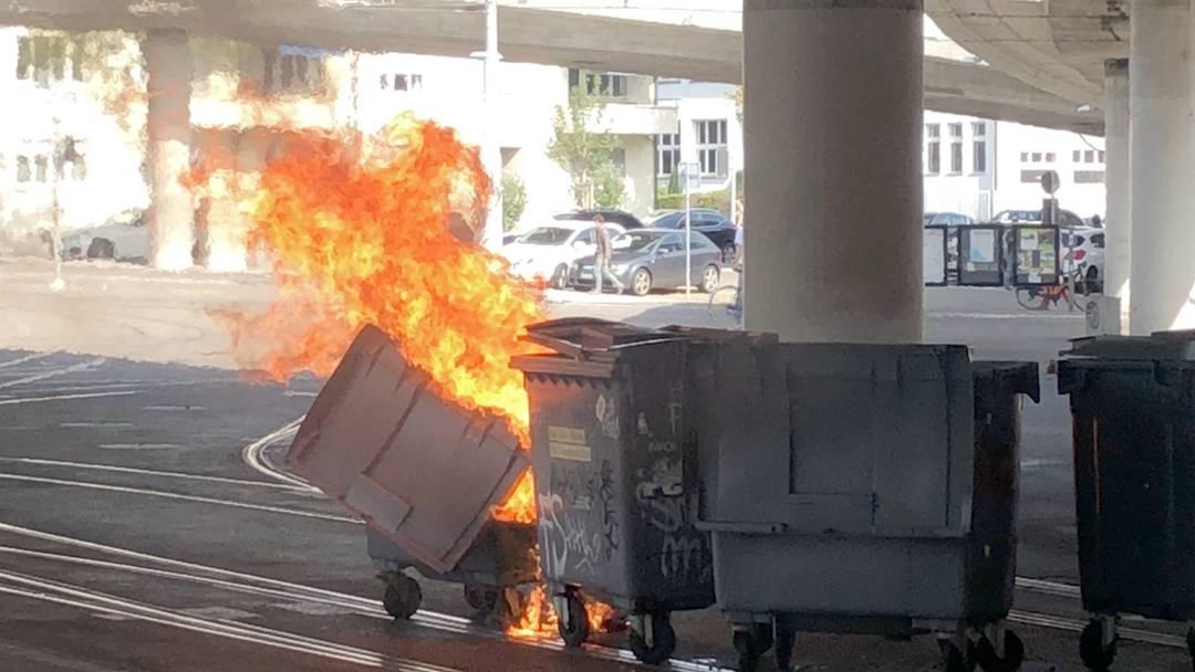 «Marsch fürs Läbe»: Brennende Container und Scharmützel im Kreis 5