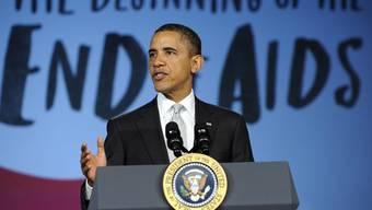 US-Präsident Obama will die Krankheit Aids besiegen