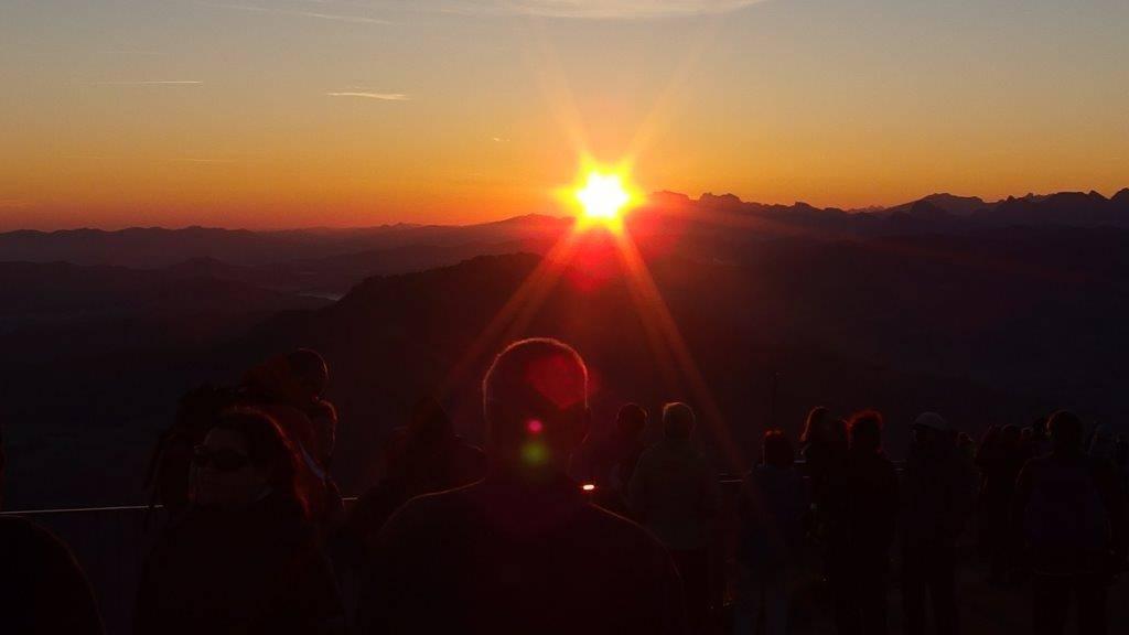 Ferientipp: Sonnenaufgang auf Rigi Kulm