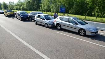 Auffahrkollision in Itingen