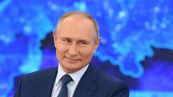 In Russland laufe alles bestens, findet Wladimir Putin.