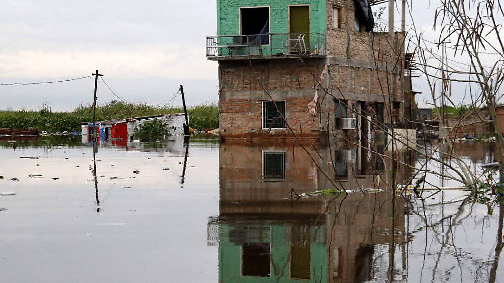 In Paraguay regnet es seit Tagen teilweise ununterbrochen. Die Folge sind verheerende Überschwemmungen, die viele Menschen obdachlos machen. (Archivbild)