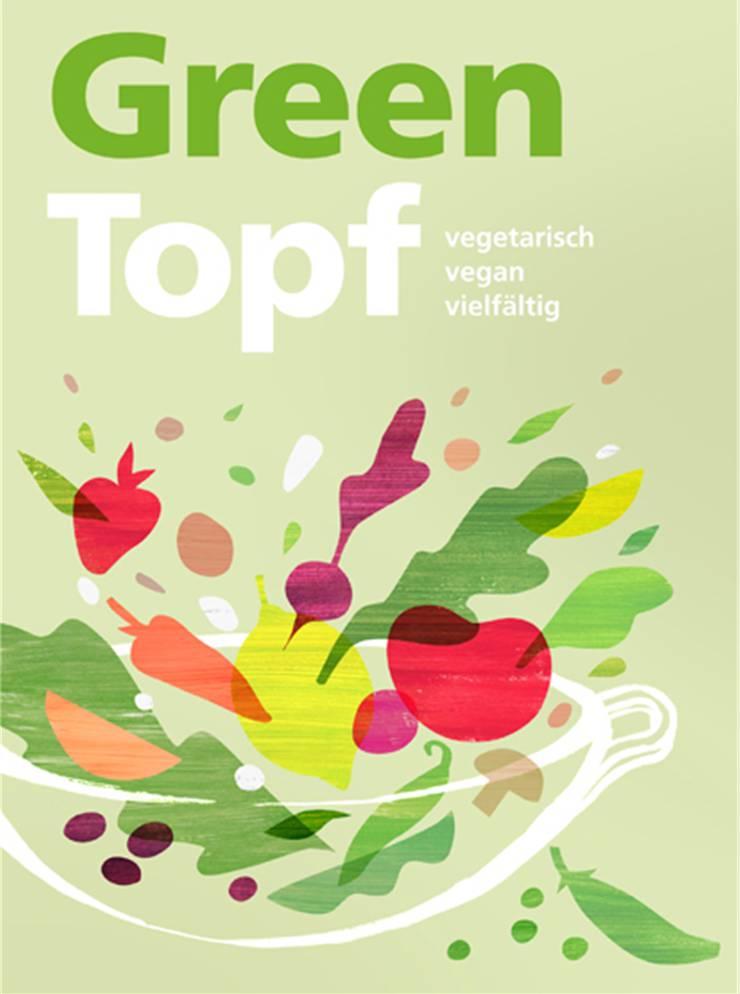 «Greentopf – vegetarisch, vegan, vielfältig» erscheint im Mai im Schulverlag plus AG in Bern. ca. 368 Seiten. 16,5× 22,5 cm, farbig illustriert, gebunden, 38 Franken.