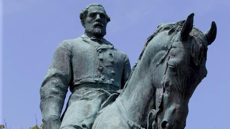 Die Statue von General Robert E. Lee in Charlottesville soll verschwinden.